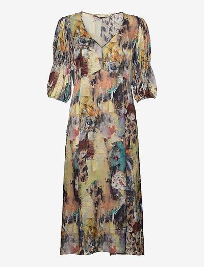 Gaia Dress - midi dresses - multi