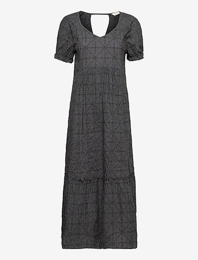 Latrice Dress - maxi dresses - asphalt