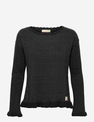 Noelle Sweater - tröjor - black