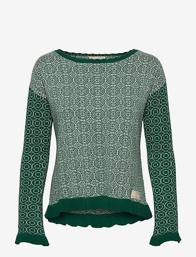 Noelle Sweater - tröjor - green