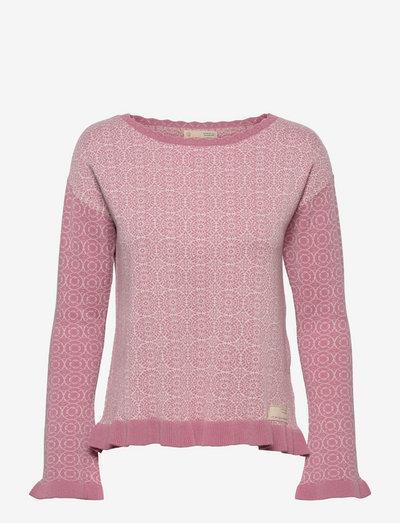 Noelle Sweater - tröjor - pink