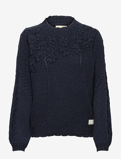 Minnie Sweater - tröjor - almost black