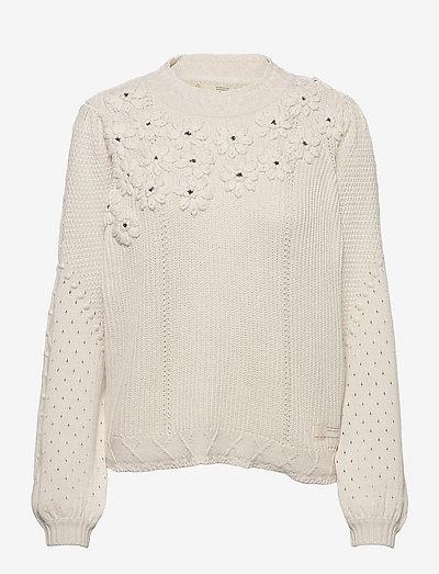 Minnie Sweater - tröjor - chalk