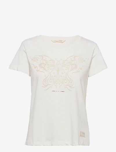 Sophie Top - t-shirts - light chalk