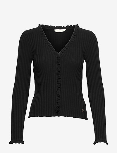 Kendall Blouse - cardigans - almost black