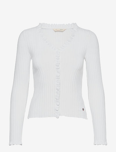 Kendall Blouse - cardigans - bright white
