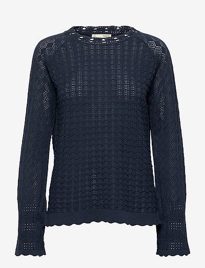 Johanna Sweater - trøjer - dark blue