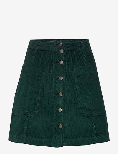 Maya Skirt - korta kjolar - midnight green