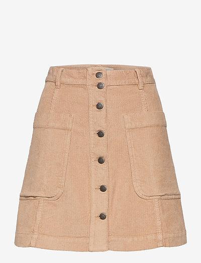 Maya Skirt - korta kjolar - soft taupe