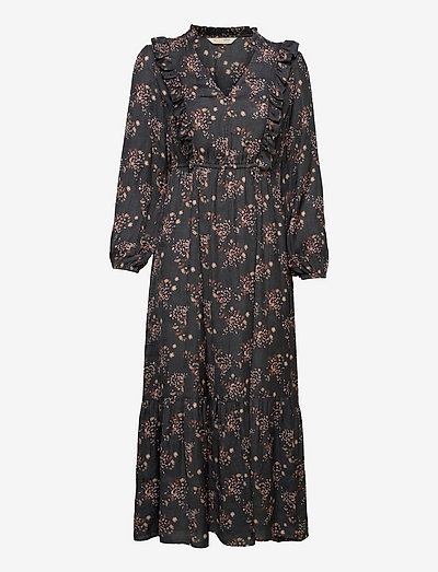 Kiera Dress - summer dresses - asphalt