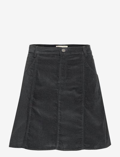 Miley Skirt - korte nederdele - deep asphalt