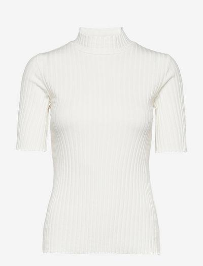 Heidi Top - t-shirts - light chalk