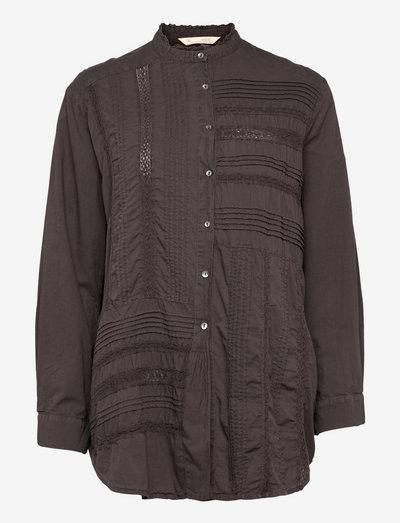 Jennifer Shirt - denimskjorter - deep asphalt