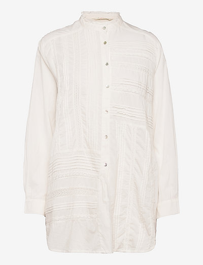 Jennifer Shirt - denimskjorter - light chalk