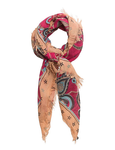 hyde park scarf - HOT PINK