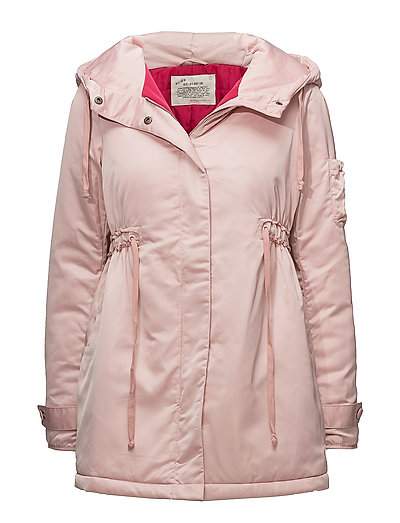 chills & shivers jacket - SMOKE ROSE