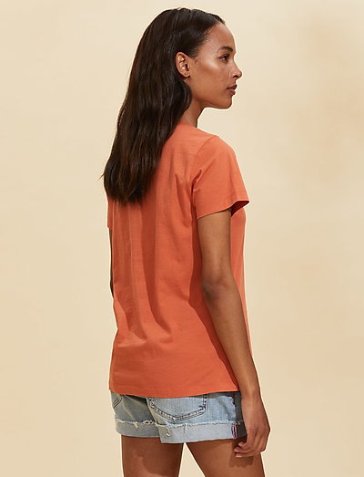 Odd Molly Juliette S/s Top- T-shirts & Tops Baked Earth