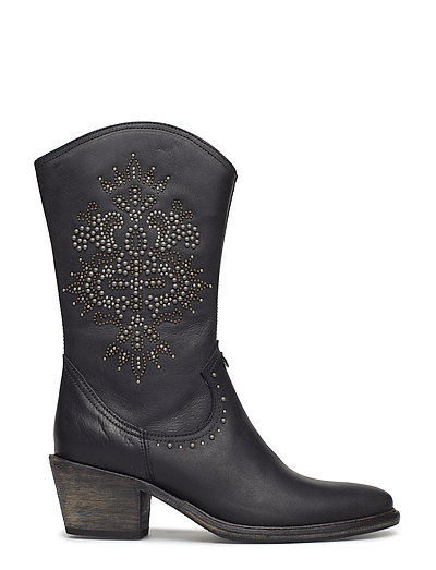 63533321588 Knock Me Out High Boot (Almost Black) (2292.45 kr) - ODD MOLLY ...