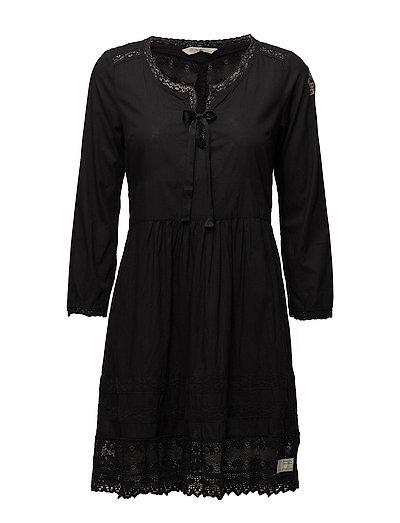 serenade dress - ALMOST BLACK