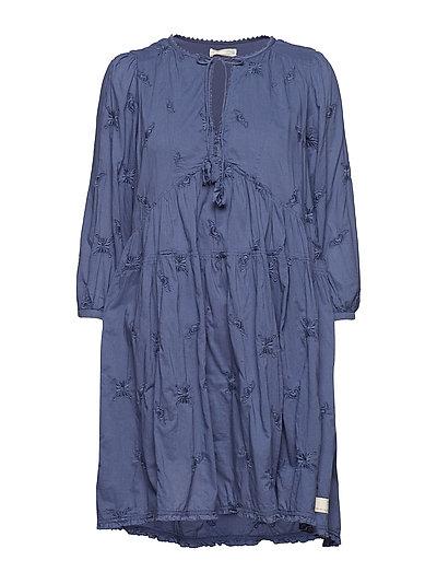 sweet symbolism dress - VINTAGE BLUE