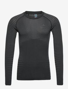 TOP Crew neck l/s PERFORMANCE LIGHT - långärmade tröjor - black