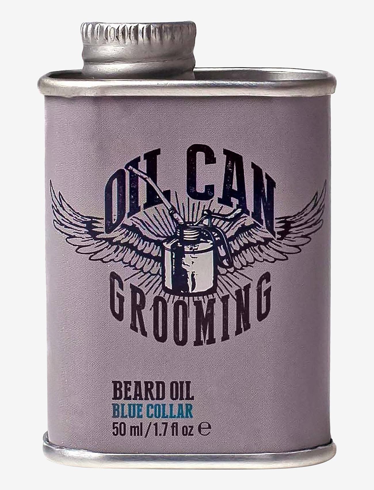 Oil Can Grooming - Blue Collar Beard Oil - skægolie - clear - 0