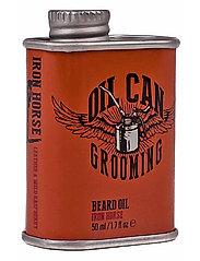 Oil Can Grooming - Iron Horse Beard Oil - skægolie - clear - 1