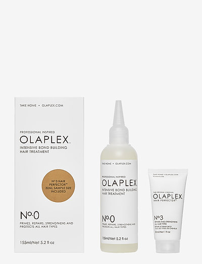 No.0 Limited Edition + No.3 - hårinpackning - clear