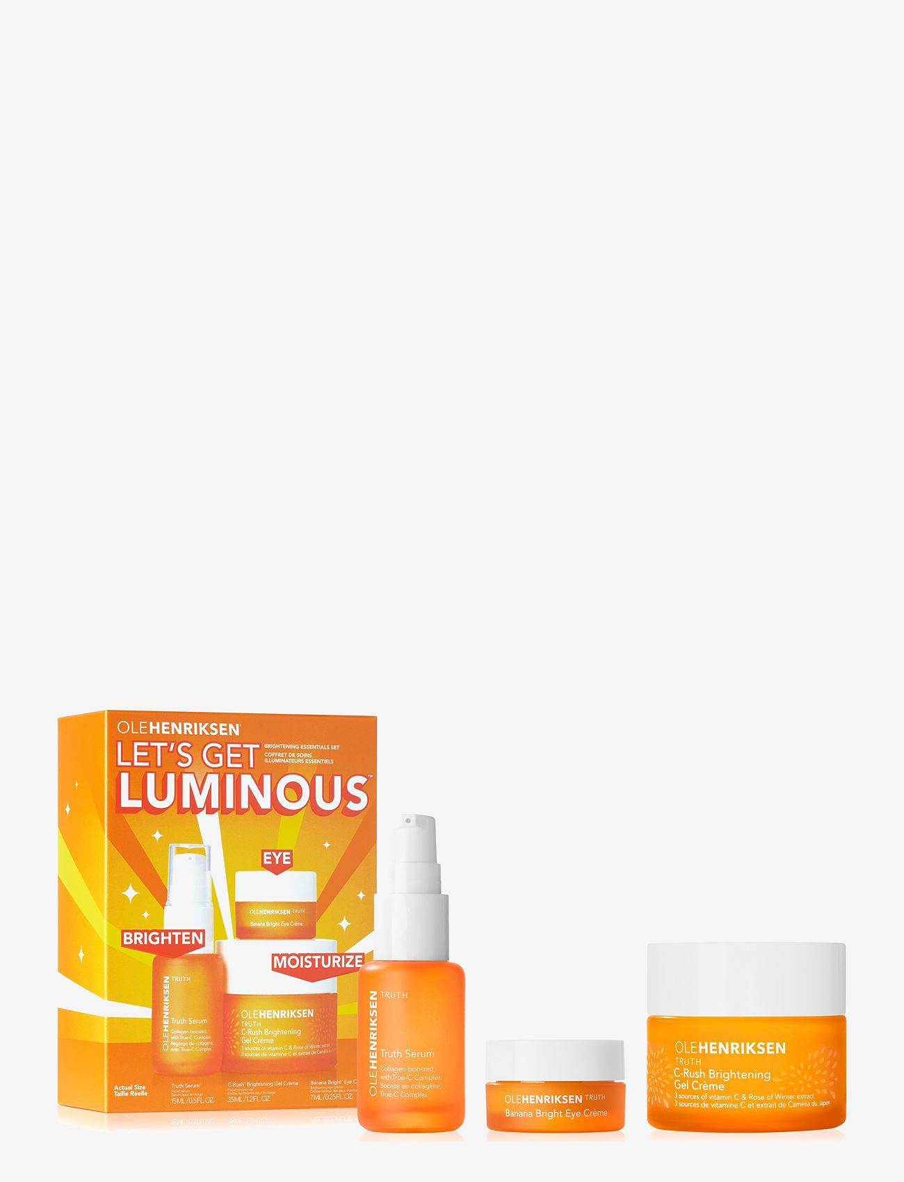 Ole Henriksen - SETS LETS GET LUMINOUS - hudvårdsset - no color - 0