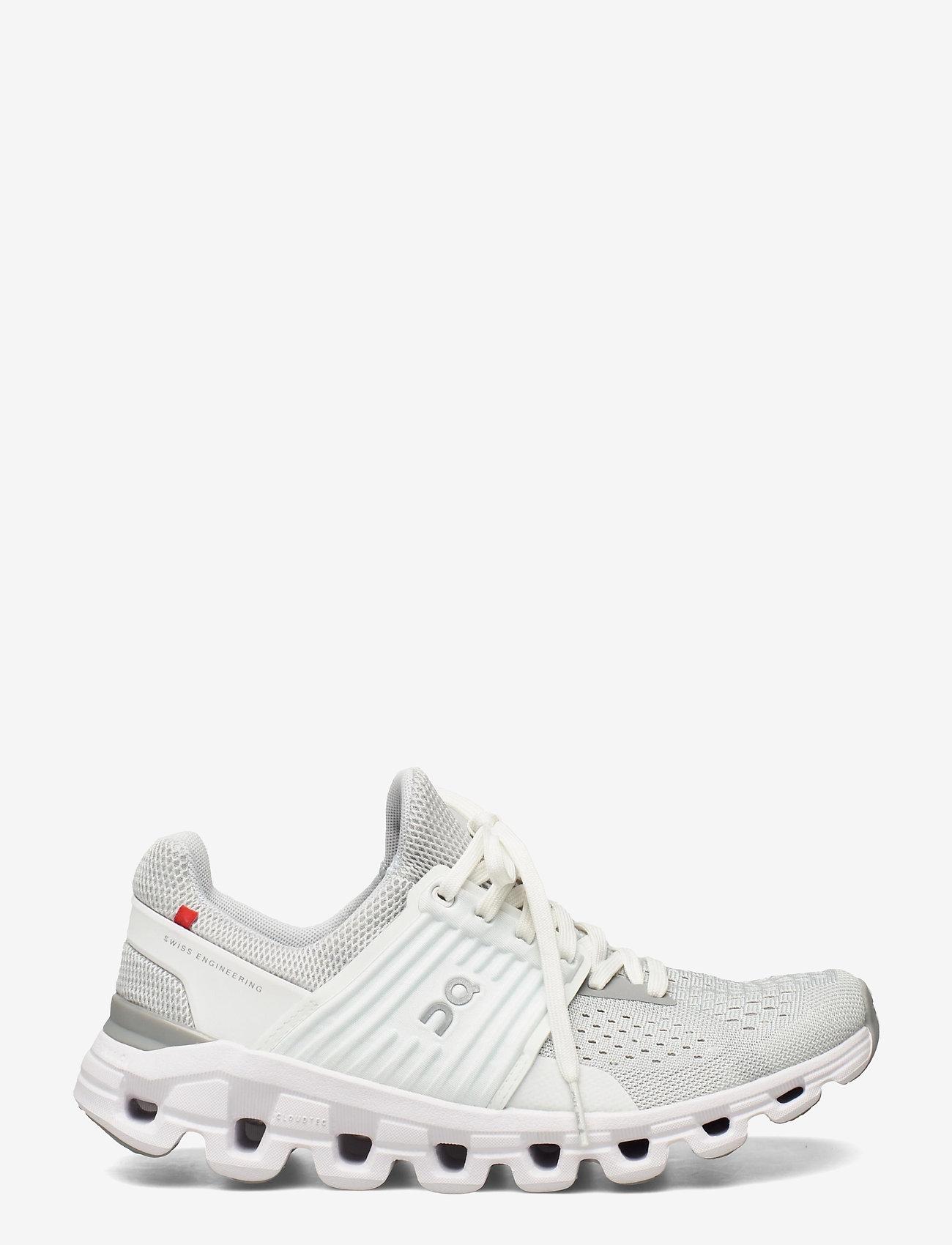 On - Cloudswift Glacier/White W - running shoes - glacier/white - 1