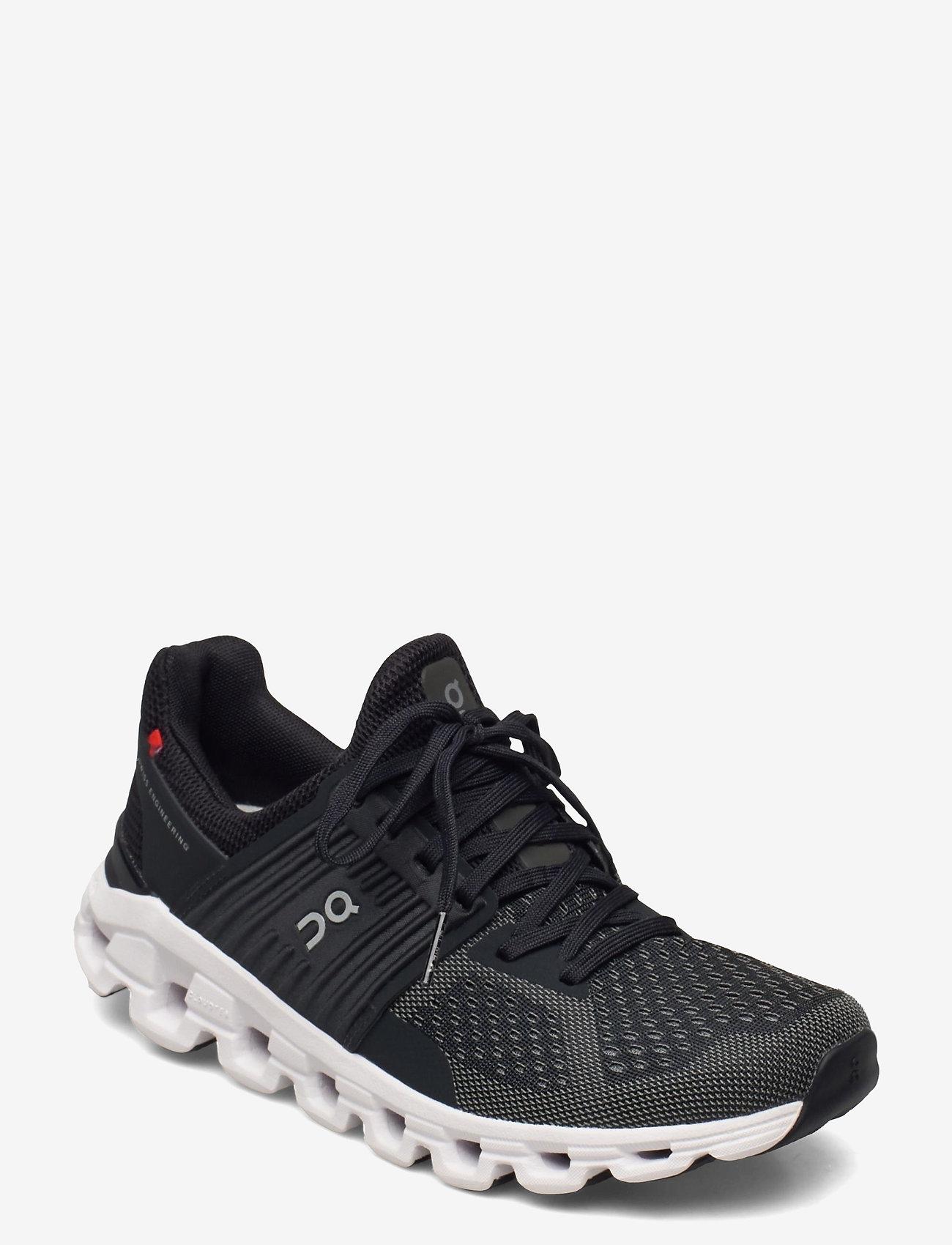 On - Cloudswift Black/Rock W - running shoes - black/rock - 0