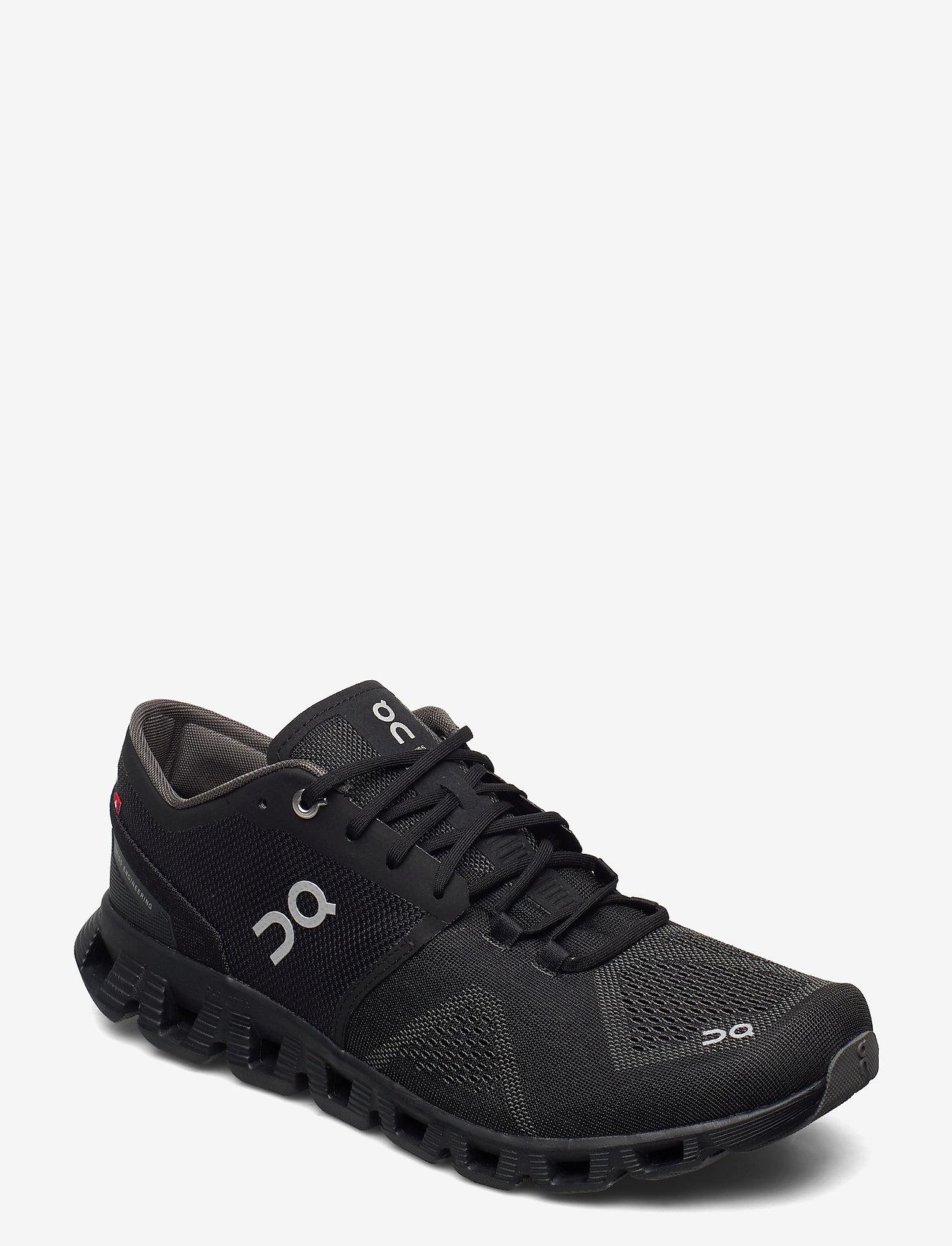 On - Cloud X - löbesko - black/asphalt - 0