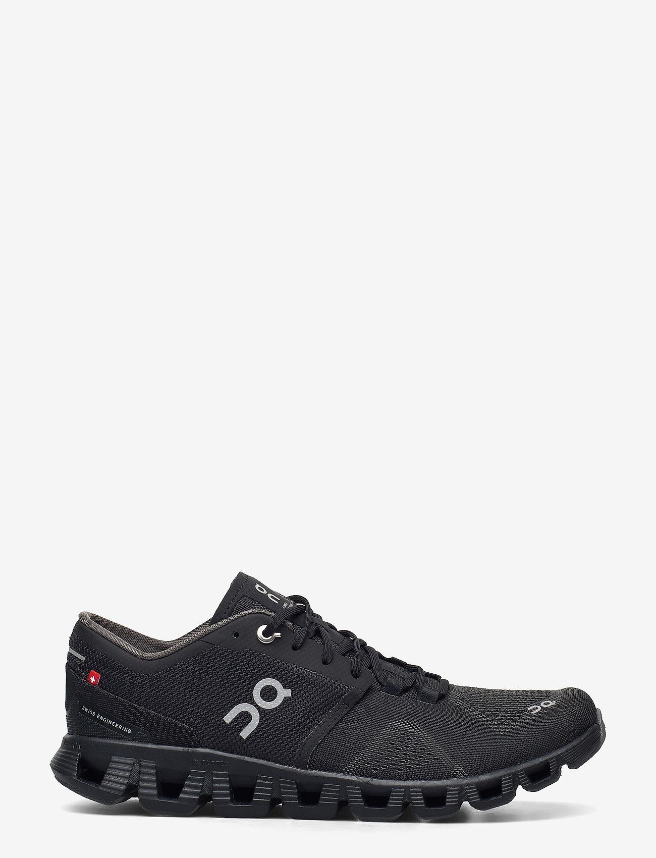 On - CloudX - running shoes - black/asphalt - 0