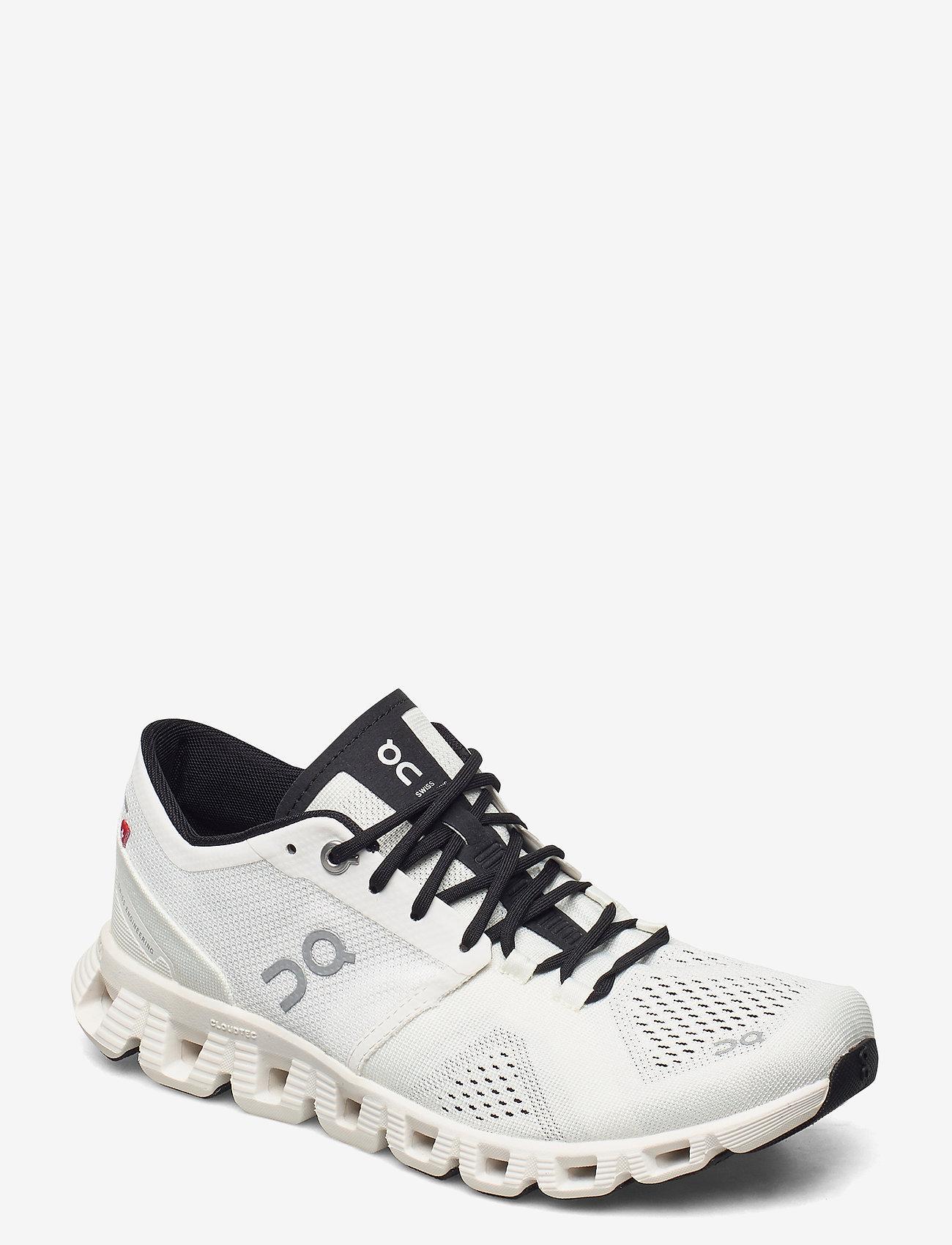 On - CloudX - running shoes - white/black - 1