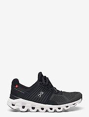 On - Cloudswift Black/Rock W - running shoes - black/rock - 1