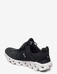 On - Cloudswift Black/Rock W - running shoes - black/rock - 2
