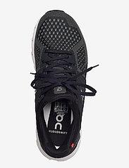 On - Cloudswift Black/Rock W - running shoes - black/rock - 3