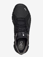 On - CloudX - running shoes - black/asphalt - 3