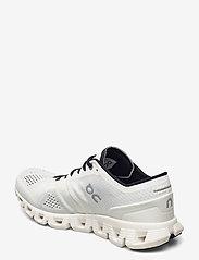 On - CloudX - running shoes - white/black - 2