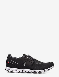 Cloud - lave sneakers - black/white