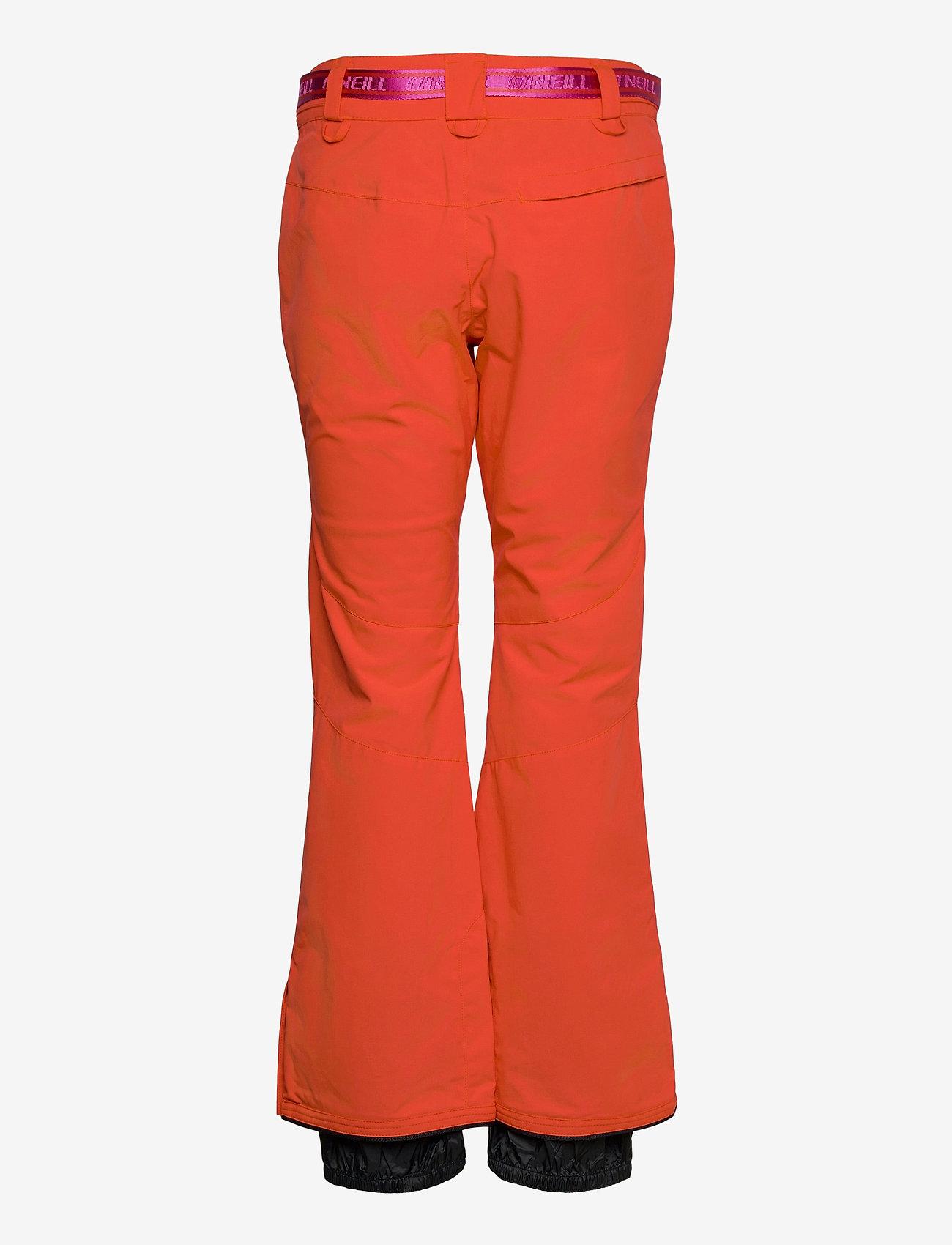 O'Neill - PW STAR SLIM PANTS - skibroeken - fiery red - 1