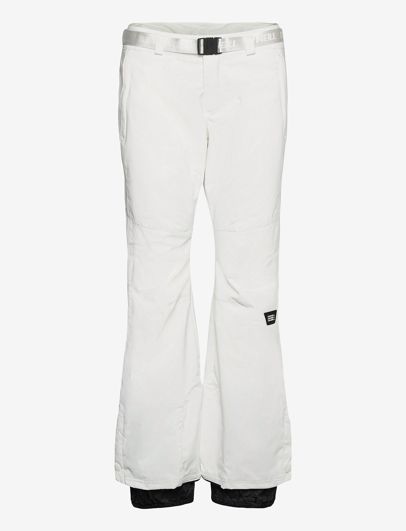 O'Neill - PW STAR SLIM PANTS - skibroeken - powder white - 0