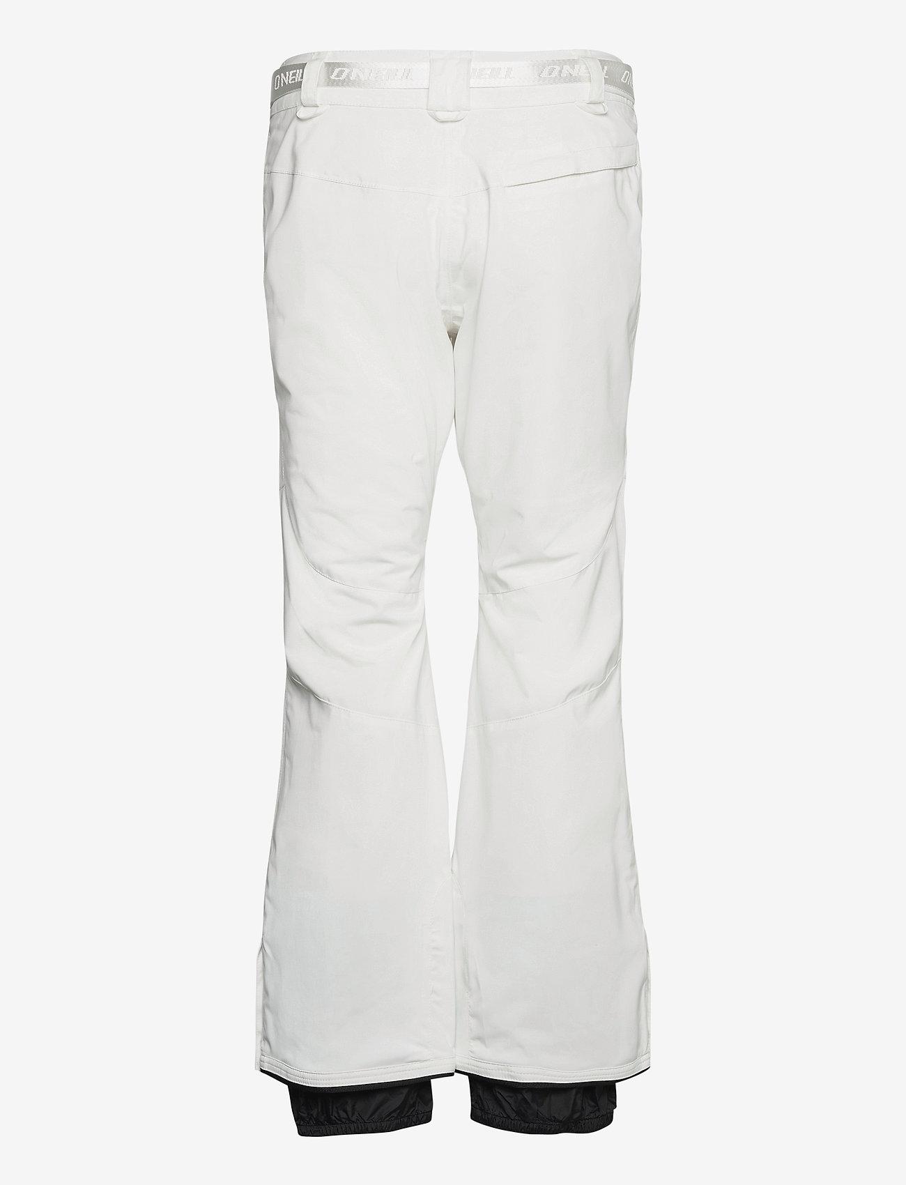 O'Neill - PW STAR SLIM PANTS - skibroeken - powder white - 1