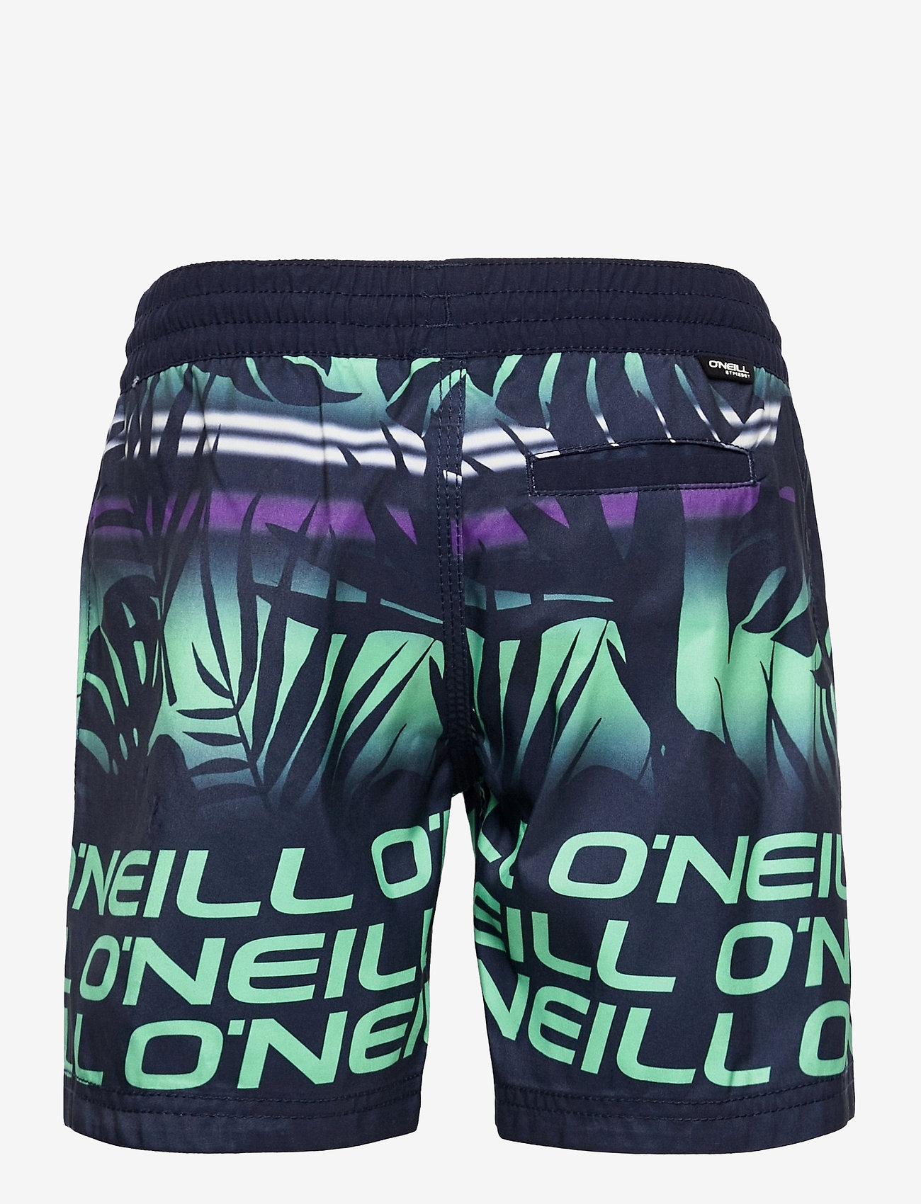O'Neill - PB STACKED SHORTS - blue aop w/ green - 1
