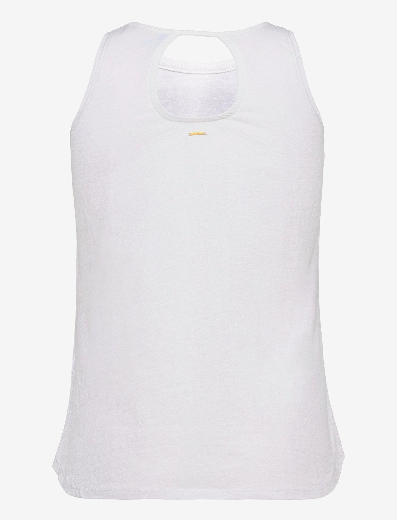 O'neill - LW  GRAPHIC TANK - tank tops - powder white - 1