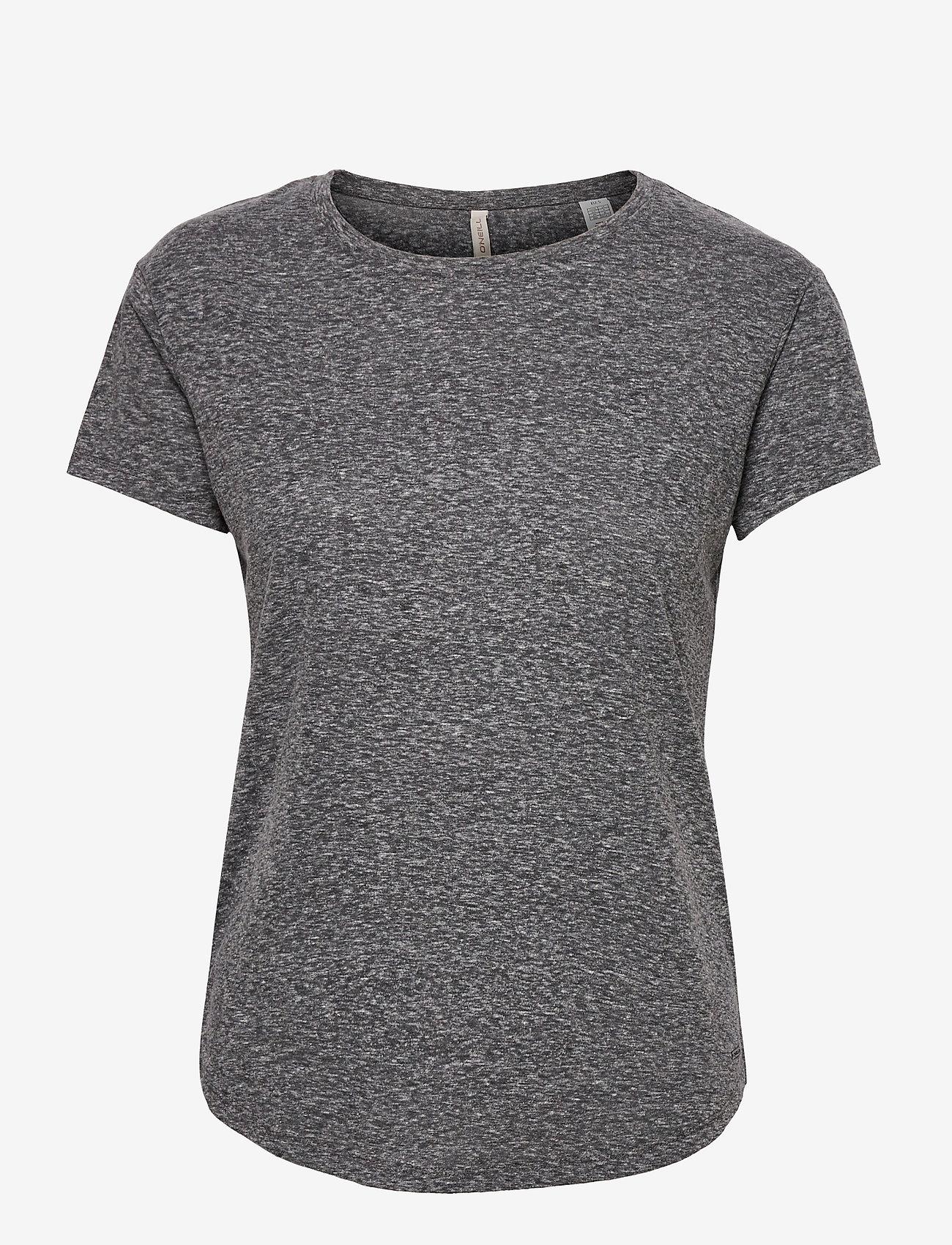 O'neill - LW ESSENTIALS T- SHIRT - t-shirts - asphalt - 0