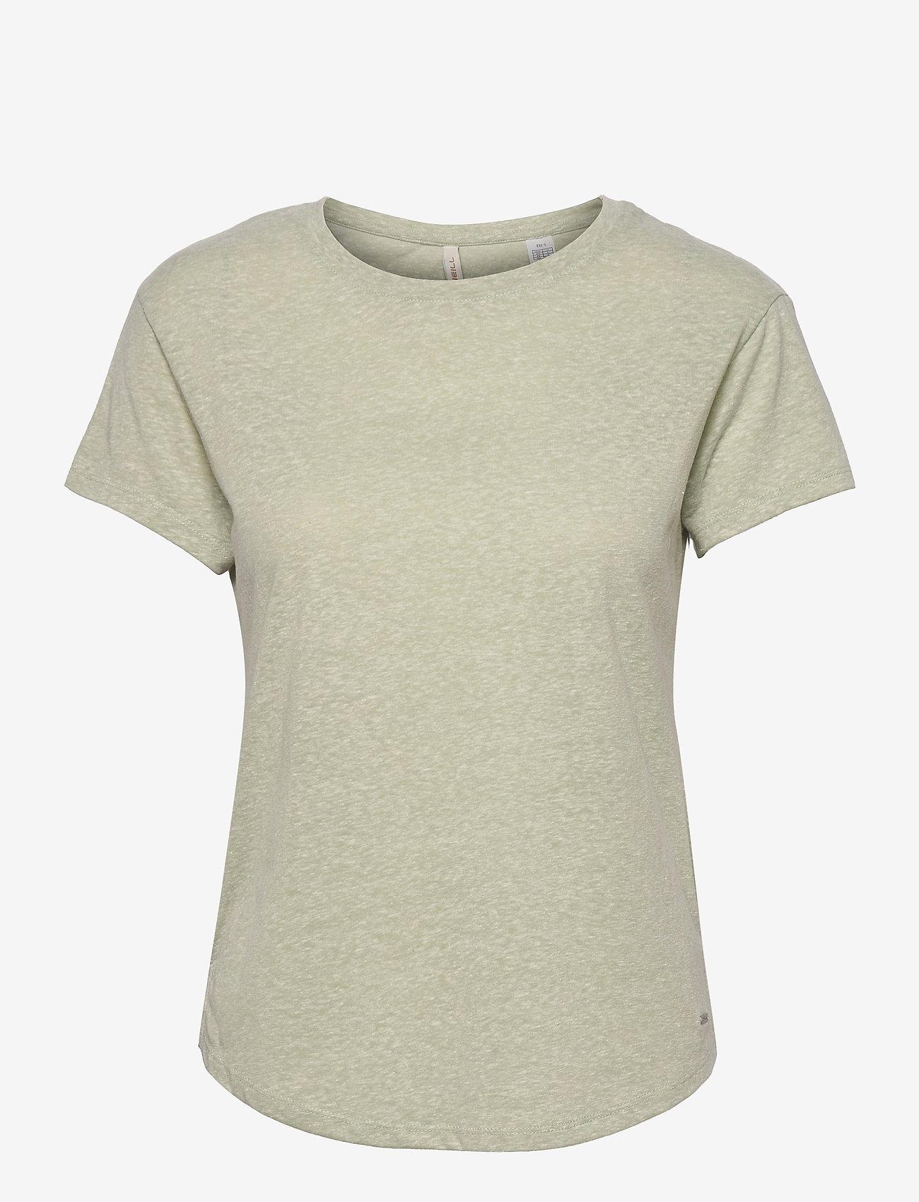 O'neill - LW ESSENTIALS T- SHIRT - t-shirts - desert sage - 0