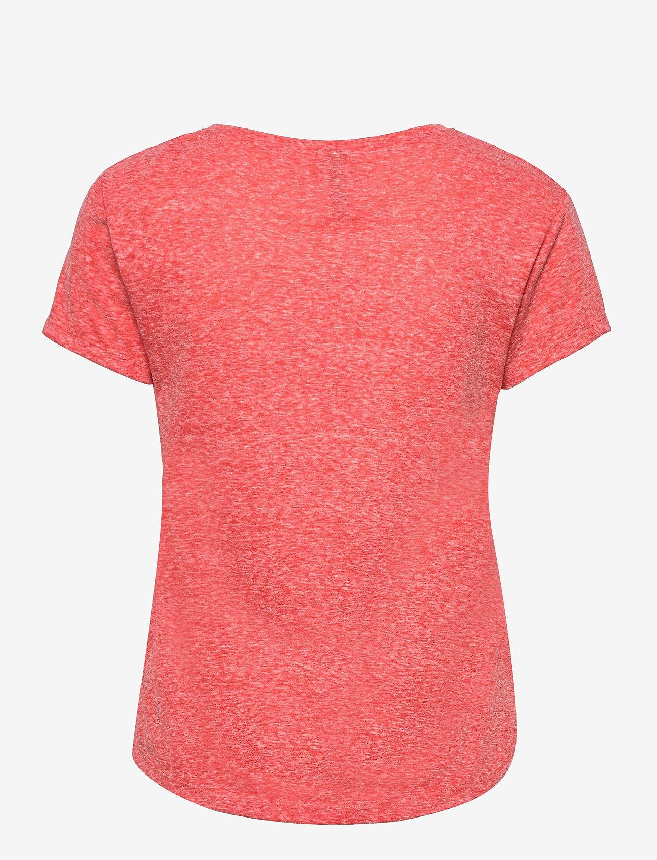 O'neill - LW ESSENTIALS T- SHIRT - t-shirts - hot coral - 1