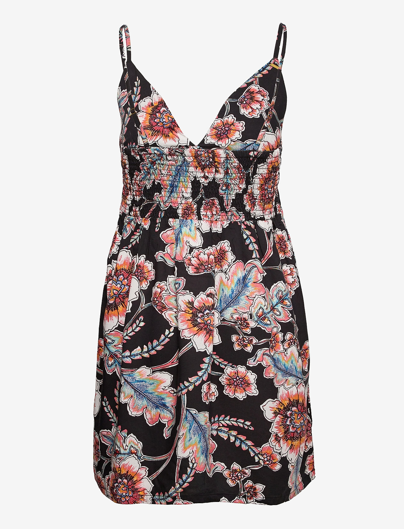 O'neill - LW MEDI AOP DRESS - sommerkjoler - black aop w/ red - 1