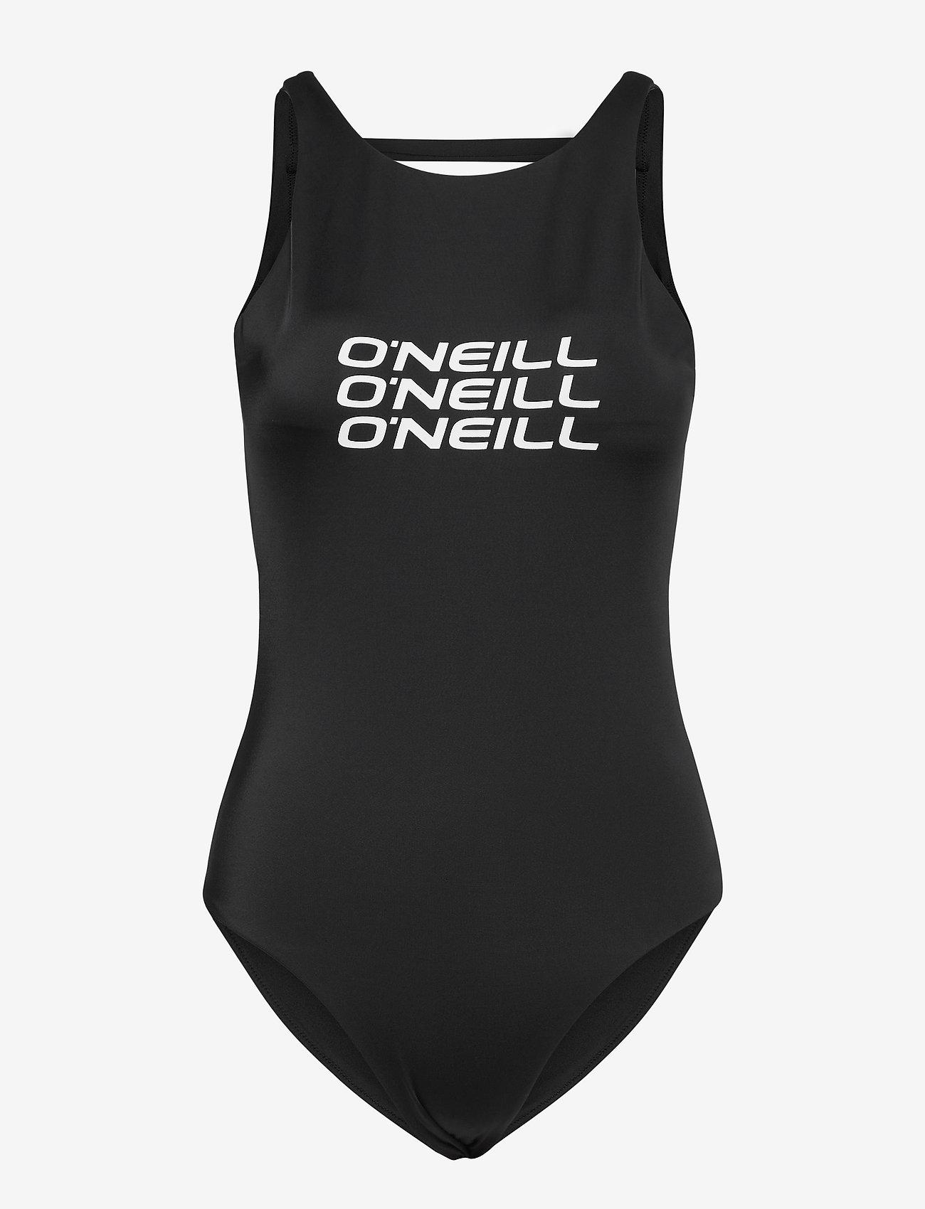 O'neill - PW  LOGO BATHINGSUIT - sportsbadetøj - black out - 0
